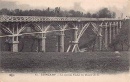 GUINGAMP  - Le Nouveau Viaduc Du Chemin De Fer ( ELD ° - Guingamp