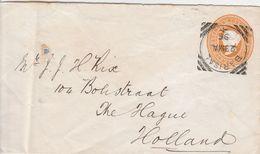 Inde Entier Postal Barisal Pour La Hollande 1896 - India (...-1947)