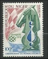 1973 Niger Chess MNH ** - Ajedrez