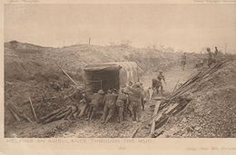 UK - Helping An Ambulance Through The Mud - Official War Photographs - British Front -WWI - War 1914-18