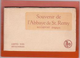 Rochefort  - Souvenir De L'Abbaye De St Remy - Carnet De 25 Cartes. (3 Scans) - Rochefort