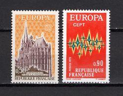FRANCE  N° 1714 + 1715   NEUFS SANS CHARNIERE  COTE  1.20€    EUROPA - Nuevos