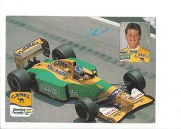 25368 - Pilote Automobile Michael Schumacher Camel Benetton Ford (Format 10X15) - Grand Prix / F1