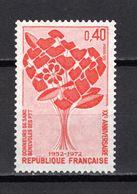 FRANCE  N° 1716    NEUF SANS CHARNIERE  COTE 0.30€    DONNEURS DE SANG - Nuevos