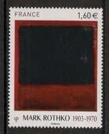 France - 2016 - N°Yv. 5030 - Tableau / Rothko - Neuf Luxe ** / MNH / Postfrisch - Francia