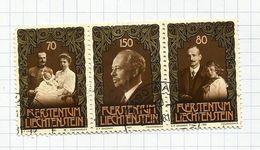 Liechtenstein N°711 à 713 Cote 4.50 Euros - Liechtenstein