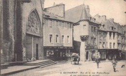 GUINGAMP  - Bas De La Rue Notre Dame  ;;animée - Guingamp
