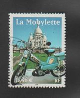 """FRANCE / 2002 / Y&T N° 3472 : """"Transports"""" (Mobylette) - Choisi - Cachet Rond - Francia"""