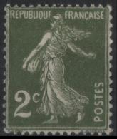 FRANCE 278 ** MNH Type Semeuse Sans Sol 1930-1931 - Francia