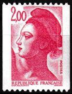 T.-P. Gommé Neuf** Roulettes - Type Liberté De Delacroix - N° Rouge Au Verso : 460 - N° 2277a (Yvert) - France 1983 - Rollo De Sellos
