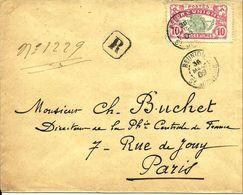 REC.de St JOSEPH Pour PARIS - 1909 - - Lettres & Documents