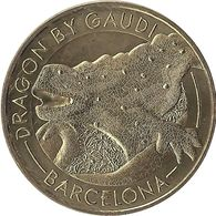 2018 MDP405 - BARCELONA - Casa Battló 8 (dragon Vers La Gauche) / MONNAIE DE PARIS - Spain