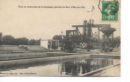 MERY Sur OISE - Usine De Construction De La Compagnie Générale Des Eaux - Mery Sur Oise