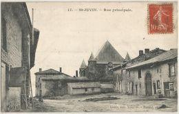 SAINT JUVIN RUE PRINCIPALE - Francia