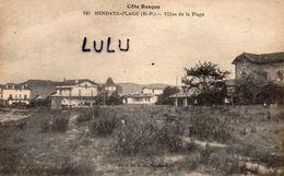 DEPT 64 : édit. Ocana N° 140 : Hendaye Plage Villas De La Plage - Hendaye