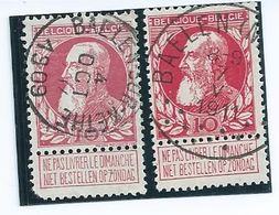 OCB 74 - Afstempelingen Van BAELEN-NETHE - 1905 Breiter Bart