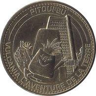 2013 MDP215 - SAINT-OURS -LES-ROCHES - Vulcania 9 (pitoufeu) / MONNAIE DE PARIS - Monnaie De Paris