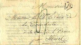 PARIS 1827 COLONS DE ST DOMINGUE HAITI INDEMNISTATION  Le Caux De Tombelle Chateau L'Orme  Illiers Combray EURE ET LOIR - Historische Dokumente
