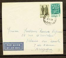 KATANGA :  Air Mail Jadotstad Belgique (zie Scan) - Katanga