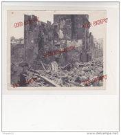 Au Plus Rapide Bombardement De Brest Rue Louis Pasteur Photo Ouest France Rennes - 1939-45