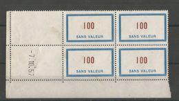 FRANCE 1956 Fictif N° 125 - Fictifs