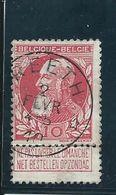OCB 74 - Afstempeling REETH - COBA 8 - 1905 Breiter Bart