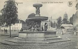 Belgique - Audenaerde - Fontaine Au Quai Louise-Marie - Oudenaarde