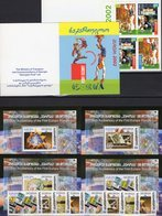Zirkus 2002 Georgien 397/8MH,507/4+Blocks 35/38 ** 42€ EUROPA Artist Clown Tiflis Hb Blocs Ss Booklet 50 Years CEPT - Georgia
