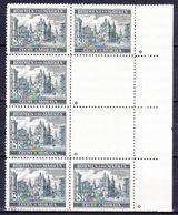 Boheme Et Moravie 1940 Mi 59 (Yv 58), (MNH)** Bloc De 8 - Etoile (Stern), Pd De Gomme - Ungebraucht