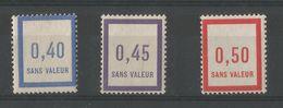FRANCE 1932 Fictifs N° 10 11 12 - Fictifs