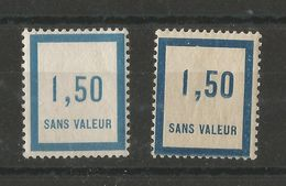 FRANCE 1932 1935 Fictifs N° 17 39 NSC / ** - Fictifs