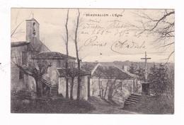 Jolie CPA Beauvallon, Drôme, L'Eglise - Other Municipalities