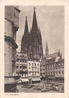 KOELN - NORDRHEIN-WESTFALLEN - DEUTSCHLAND - ANSICHTKARTE 1950. - Köln