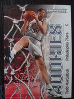 NBA - FLEER 1999 - SIXERS - TODD MACCULLOUGH - 1990-1999