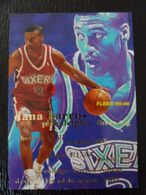 NBA - FLEER 1996 - SIXERS - DANA BARROS - 1990-1999