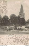 Warsage - Dalhem - Place Du Jet D'eau - Vue Animée - 2 Scans - Dalhem
