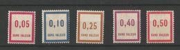 FRANCE 1935 Fictifs N° 26 27 30 32 34 NSC / ** - Fictifs