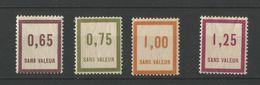 FRANCE 1935 Fictifs N° 35 36 37 38 - Fictifs