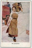 52815490 - Ein Flaschenkind Frau Verlag Der Lustigen Blaetter - Cartes Postales