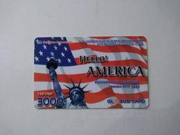 Russia ? Prepaid Cards, Statue Of Liberty , (1pcs) - Rusland