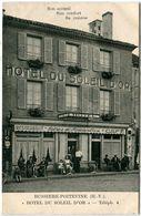 87. HAUTE-VIENNE - BUSSIERE-POITEVINE. Hôtel Du Soleil D'Or. Rare. - Bussiere Poitevine