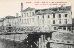 Ruines Pont Sur La Lys Et Coin Rue De Buda - Kortrijk - Courtrai - Kortrijk