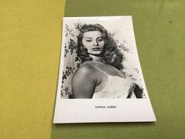 Carte Photo Sophia Loren - Attori