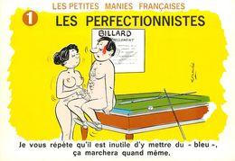 ILLUSTRATEUR ALEXANDRE - HUMOUR LES PETITES MANIES FRANCAISE - LES PERFECTIONNISTES - Fantaisies