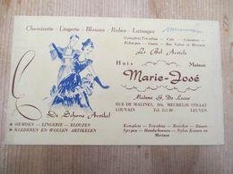 Vloeipapier Leuven Lingerie 1953 - Kleding & Textiel