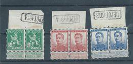 3 Paren Met DEPOT-stempel Postfris - 1912 Pellens