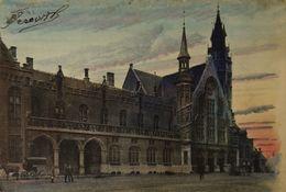 Brugge - Bruges // Station (color) Ca 1900 Sugg - Brugge