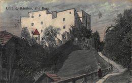 GMUND KARNTEN AUSTRIA~ALTE BURG~1909 BOGENSBERGER KUNSTLER POSTCARD 46704 - Altri