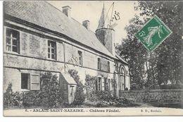CPA PAS-DE-CALAIS ABLAIN-SAINT-NAZAIRE Château Féodal   N°8 - Frankreich