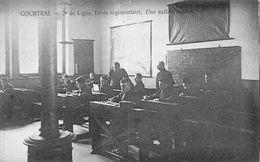 2e Ligne Ecole Régimentaire, Une Salle D'études - Kortrijk - Courtrai - Kortrijk